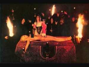 Invocación para orgia satánica